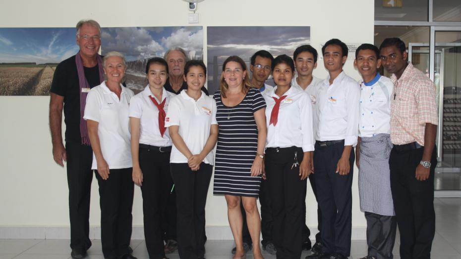Green Team, Hotelschule Sihanoukhville